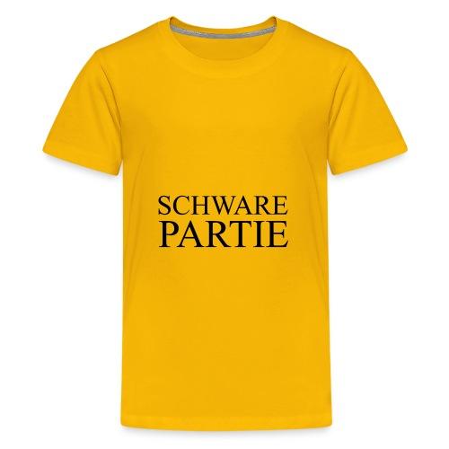 schwarePartie png - Teenager Premium T-Shirt