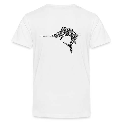 The Black Marlin - Teenage Premium T-Shirt