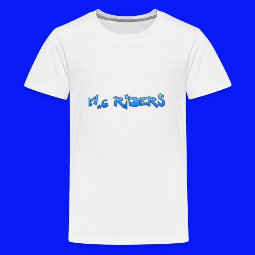 Water Bottle Riders - Teenage Premium T-Shirt