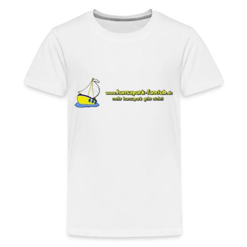 Logo Länglich png - Teenager Premium T-Shirt
