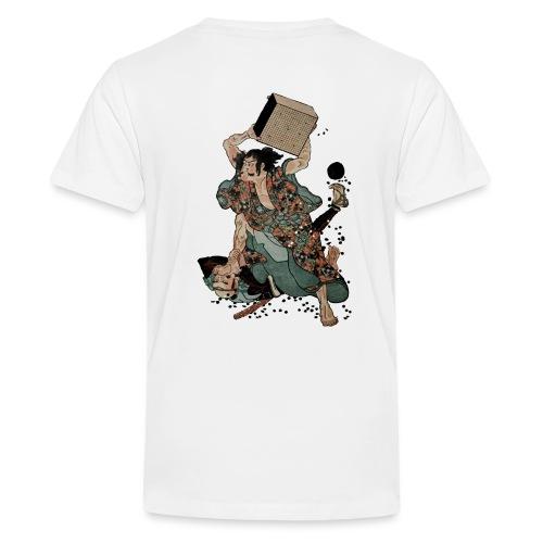 Sato Tadanobu with a goban - Teenager Premium T-shirt