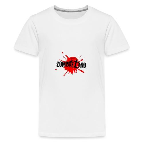 Zombieland Austria Logo Transperent png - Teenager Premium T-Shirt
