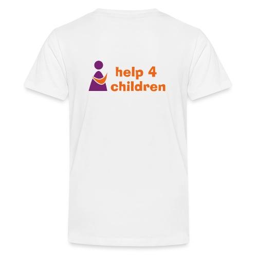 Kinder Premium Kapuzenjacke - Teenager Premium T-Shirt