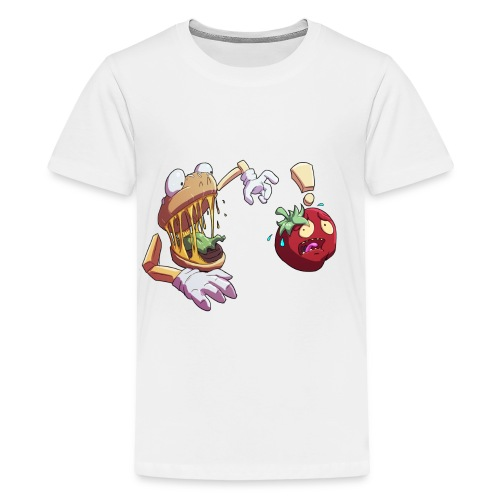 Tomato Chase - Twitch Back - Premium-T-shirt tonåring