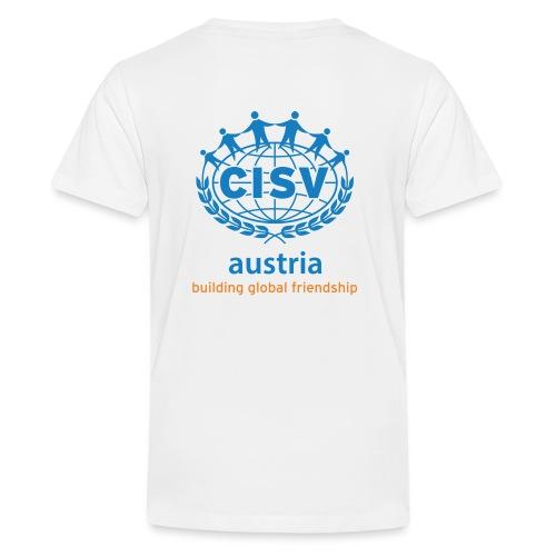 Logo Austria hochformat - Teenager Premium T-Shirt