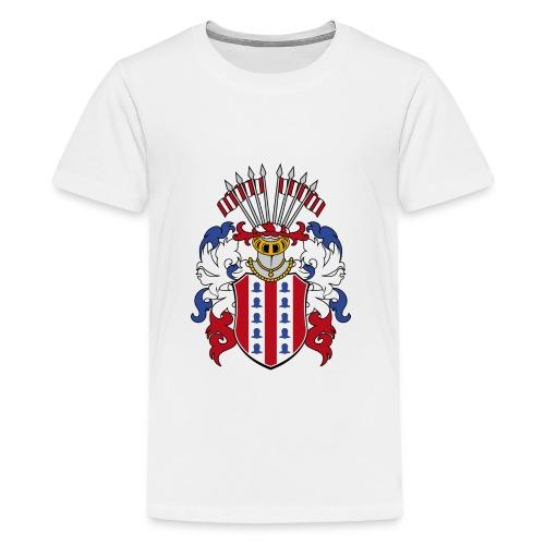 wappen amelunxen historisch - Teenager Premium T-Shirt