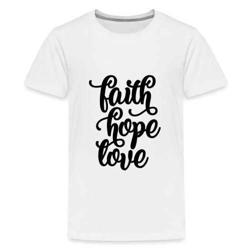 typo einfach 2016 copy - Teenager Premium T-Shirt