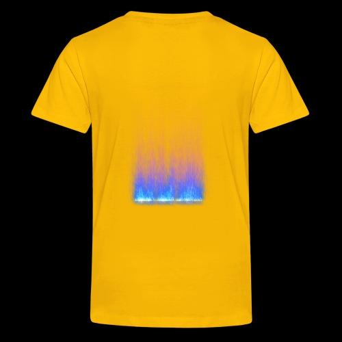 SONNIT BLUE TRANSFORM, RESURECTION - Teenage Premium T-Shirt