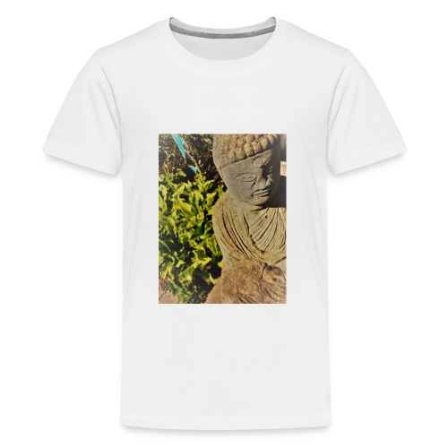 Garden Buddha - Teenage Premium T-Shirt