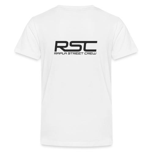 Rapla Street Crew Logo - Teenage Premium T-Shirt