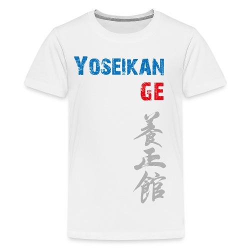 Tshirt YBG (col V) - T-shirt Premium Ado