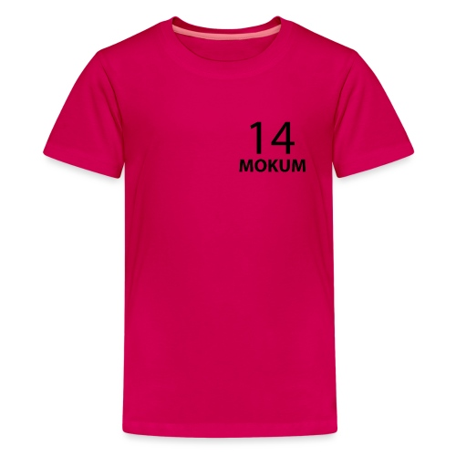 mokum 14 (black text) - Teenager Premium T-shirt