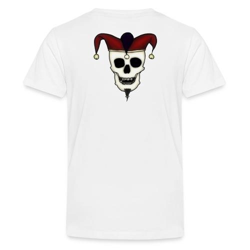 Narrenwut Logo Kopie CLEAR 3 gif - Teenager Premium T-Shirt