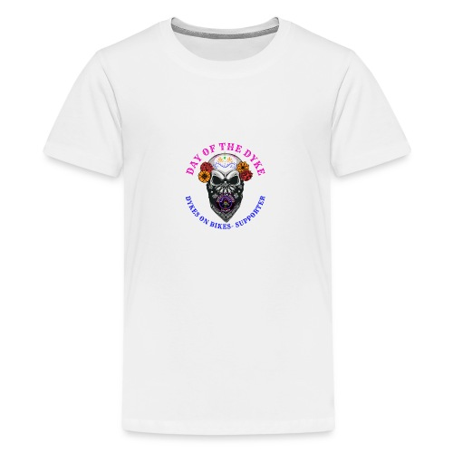 Day of the Dyke supporter - Teenage Premium T-Shirt