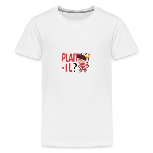 Seyar Plaît il rouge - T-shirt Premium Ado