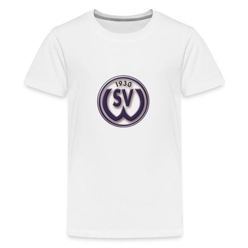 svw 4c logo transparent png - Teenager Premium T-Shirt