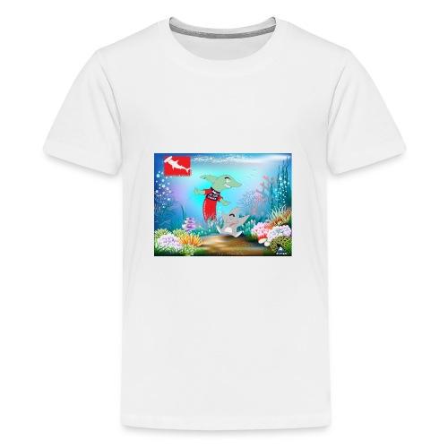 jesuis sharkie jpg - Camiseta premium adolescente