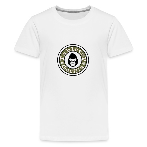 Tabletop Gorilla Logo - Teenager Premium T-Shirt