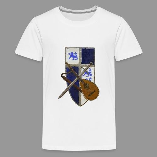 vonardingen_wappen - Teenager Premium T-Shirt