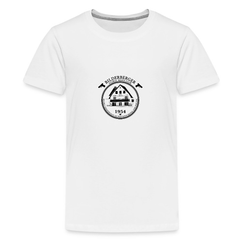 Bilderberg Logo - Teenager Premium T-Shirt