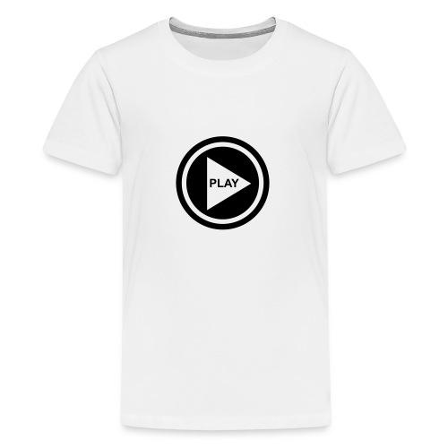 Play Button - Teenager Premium T-Shirt