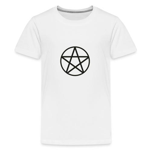 pentagram spread - Koszulka młodzieżowa Premium