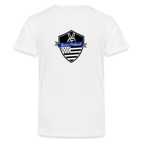 Breizh Motard Vestes et gilets - T-shirt Premium Ado