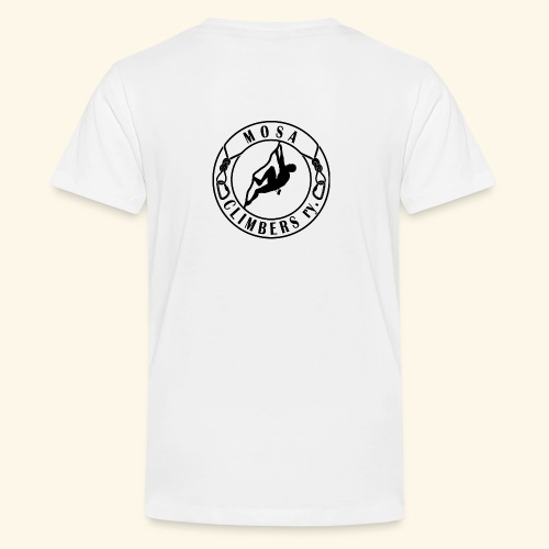 Mosa climbers black - Teinien premium t-paita