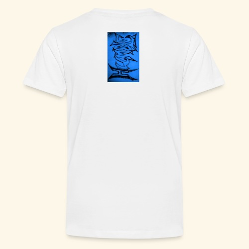 HUMBLE BLUE - Teenage Premium T-Shirt