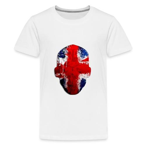 Borg Robot Cap - Teenage Premium T-Shirt