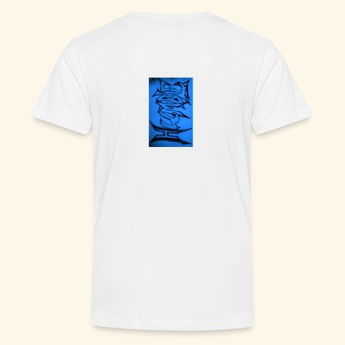 HUMBLE BLUE - Teenage Premium T-Shirt