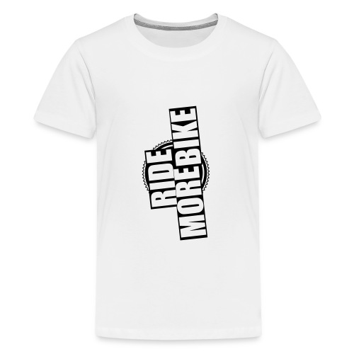 RIDE MORE BIKE Bio-Hoodie - Teenager Premium T-Shirt