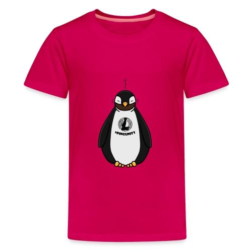 DerLeeZockt Pingu Tasse - Teenage Premium T-Shirt