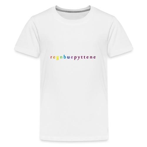 Regnbuepyttene - Premium T-skjorte for tenåringer