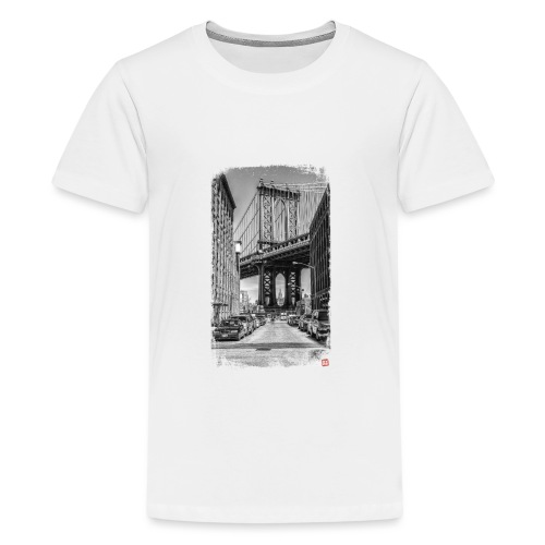 Manhattan Bridge - T-shirt Premium Ado
