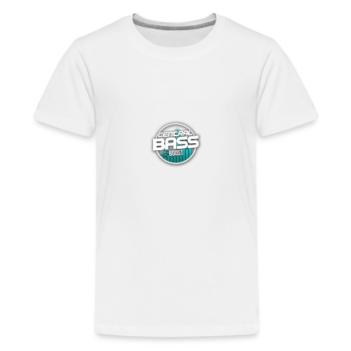 Plain T-Shirt with Logo - Teenage Premium T-Shirt