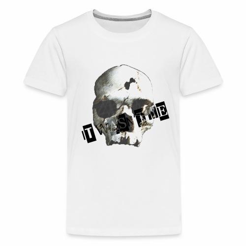 jr murder free2 png - Teenager premium T-shirt