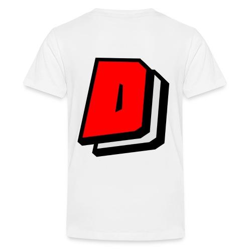 Dahl Dantill Logo - Teenage Premium T-Shirt