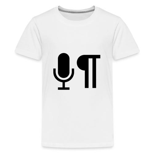Logo der Shownot.es (@DieShownotes) - Teenager Premium T-Shirt