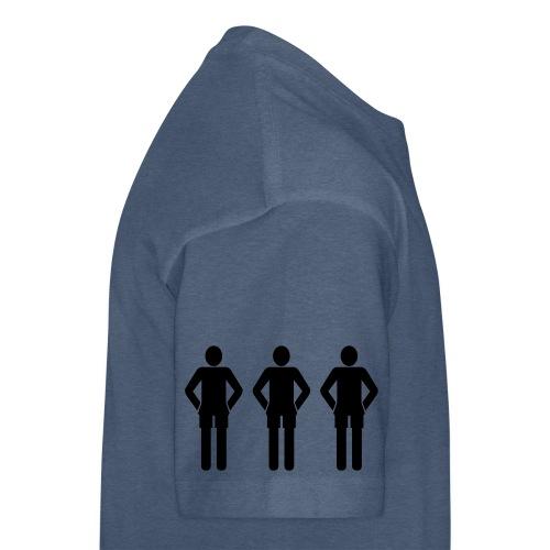 3schwarz - Teenager Premium T-Shirt