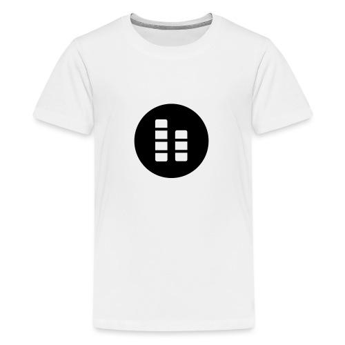 ctylight icon bild rund - Teenager Premium T-Shirt