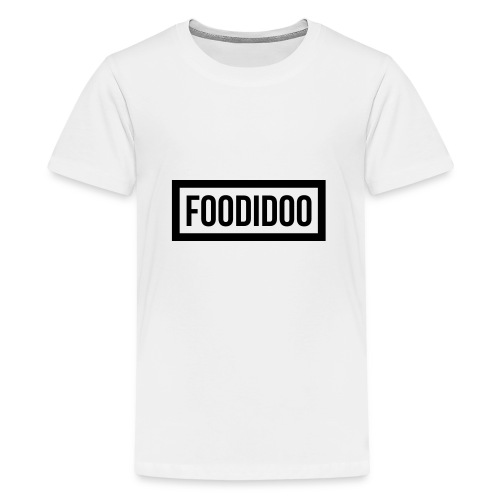Foodidoo_Logo copy - Teenager Premium T-Shirt