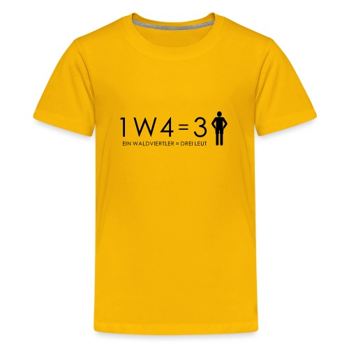 1W4 3L - Teenager Premium T-Shirt