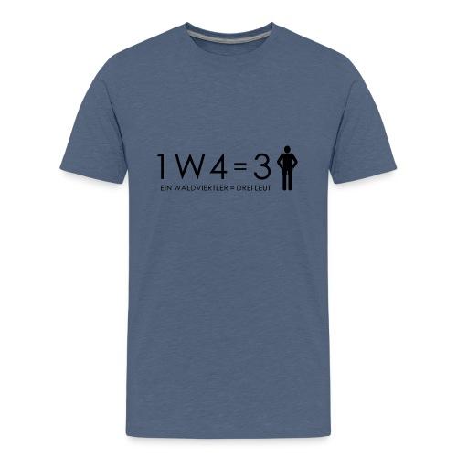 1W4 3L - Teenager Premium T-Shirt