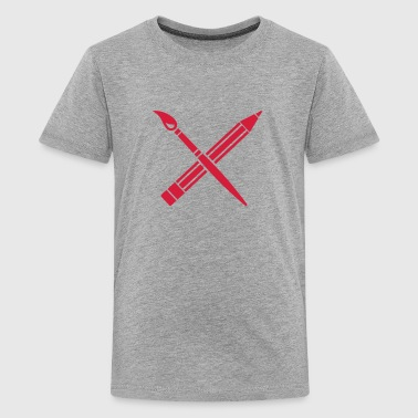 Konstnär - Premium-T-shirt tonåring