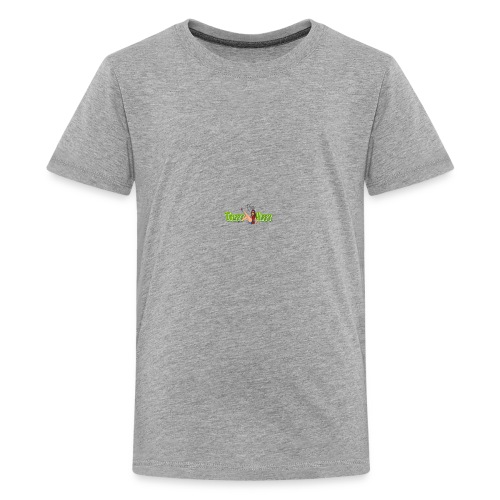 TheTrippyHippyFinalLogo CompressedResized - Teenage Premium T-Shirt