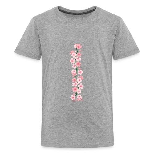 yuka cherry blossom - Teenager Premium T-Shirt