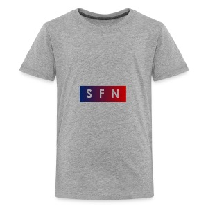 strong far nation - the bluered One - Teenager Premium T-Shirt