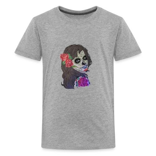 Skull - T-shirt Premium Ado