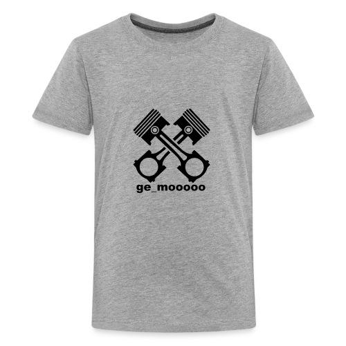 ge_mooooo logo - Teenager Premium T-Shirt